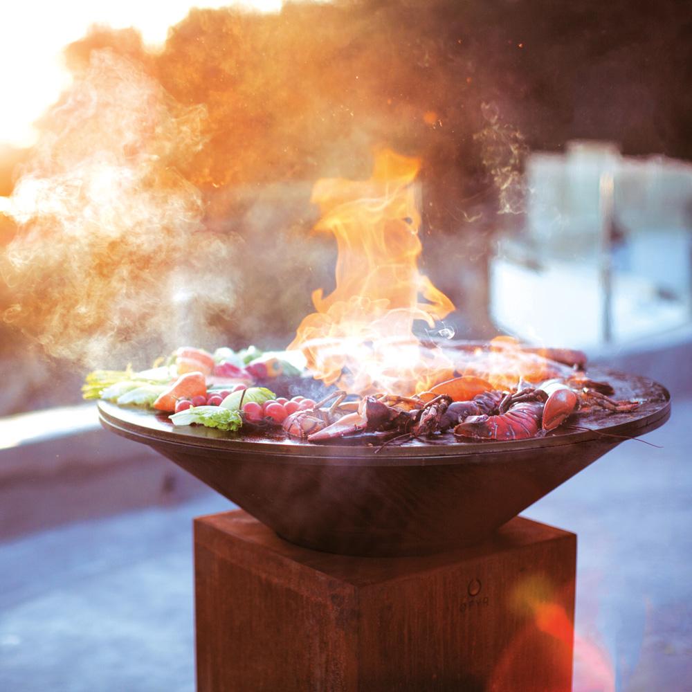 Houtgestookte Vuurschaalbarbecue / Ofyr