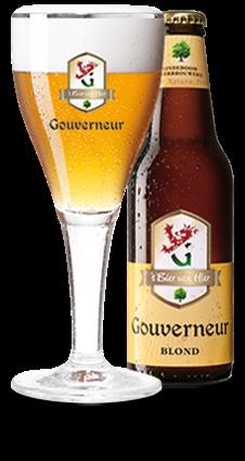 Gouverneur Blond flesje 30 cl.